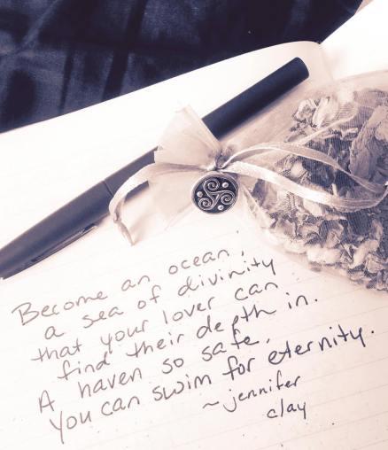 Mojo bag & poem